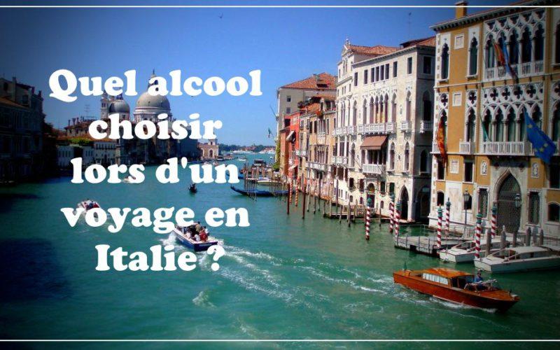 Quel alcool choisir lors d'un voyage en Italie ?